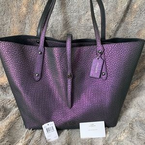 Limited edition Coach holographic tote